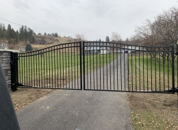 automatic security gates for driveways