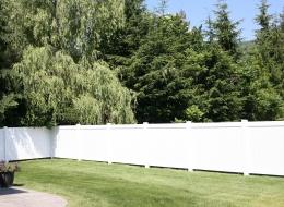 best vinyl fence installation